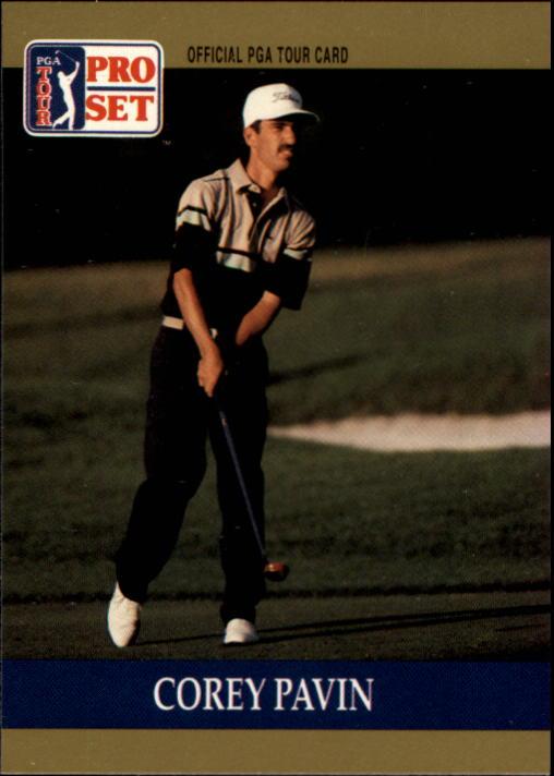 1990 Pro Set #62 Corey Pavin RC