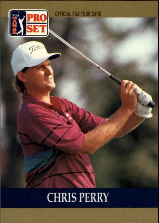 1990 Pro Set #63 Chris Perry RC