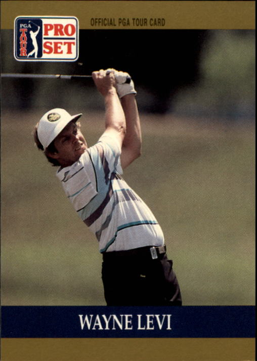 1990 Pro Set #66 Wayne Levi