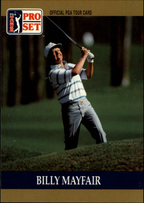 1990 Pro Set #70 Billy Mayfair RC