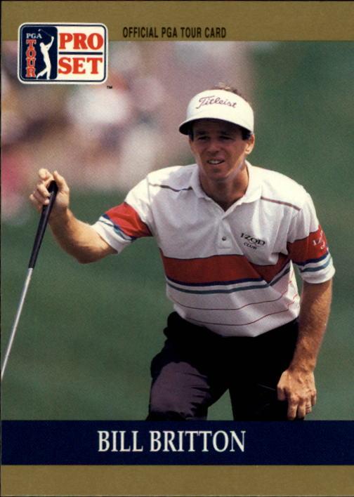 1990 Pro Set #72 Bill Britton RC