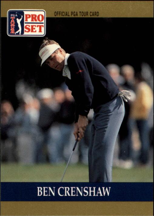 1990 Pro Set #73 Ben Crenshaw
