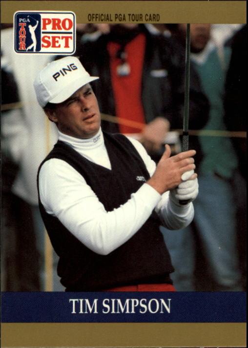 1990 Pro Set #75 Tim Simpson RC