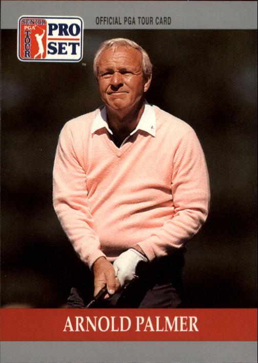 1990 Pro Set #80 Arnold Palmer RC
