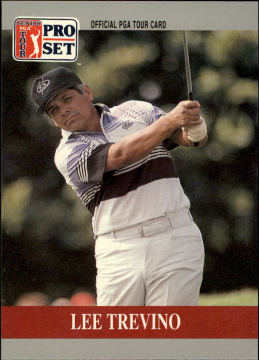 1990 Pro Set #82 Lee Trevino