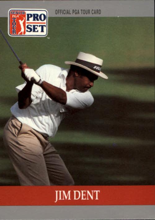 1990 Pro Set #84 Jim Dent RC
