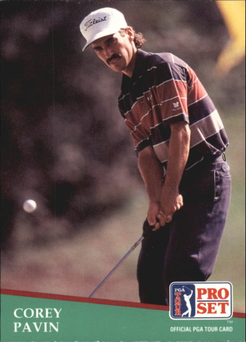 1991 Pro Set #3 Corey Pavin