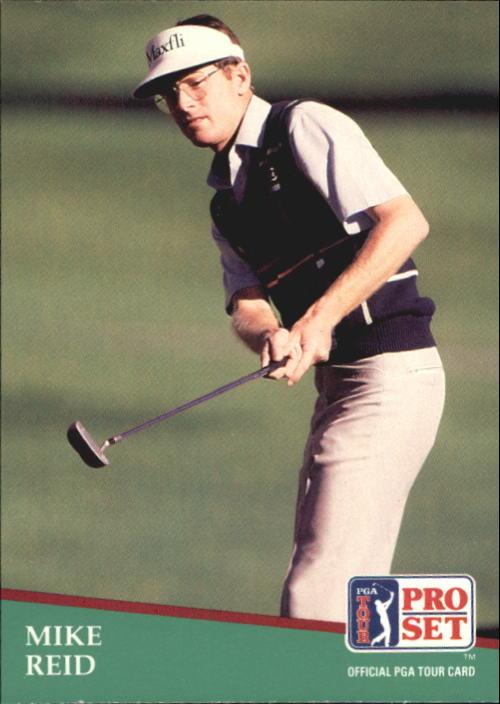 1991 Pro Set #9 Mike Reid