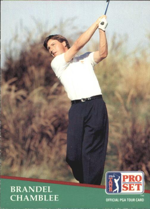 1991 Pro Set #15 Brandel Chamblee RC