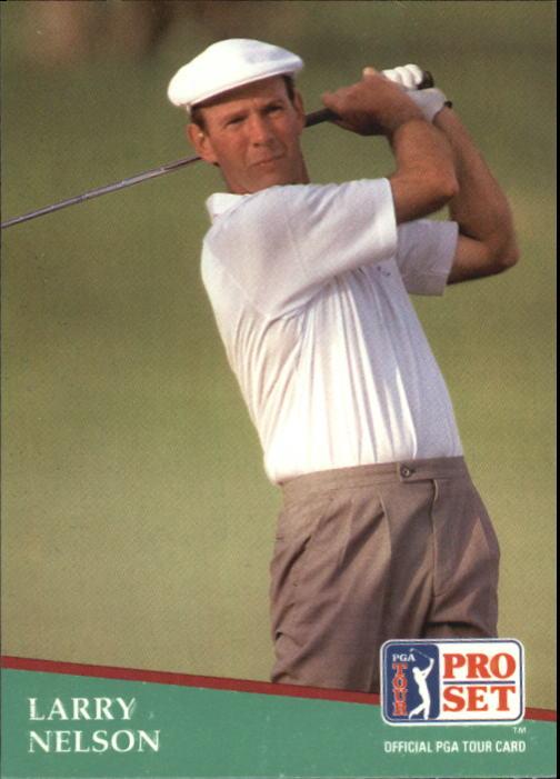 1991 Pro Set #16 Larry Nelson