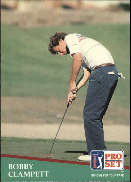 1991 Pro Set #17 Bobby Clampett