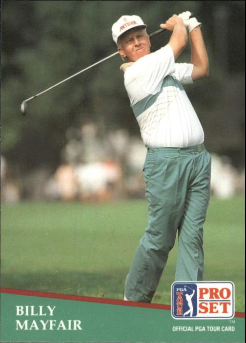 1991 Pro Set #26 Billy Mayfair