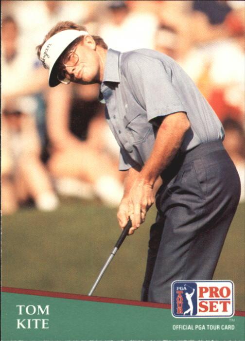 1991 Pro Set #27 Tom Kite