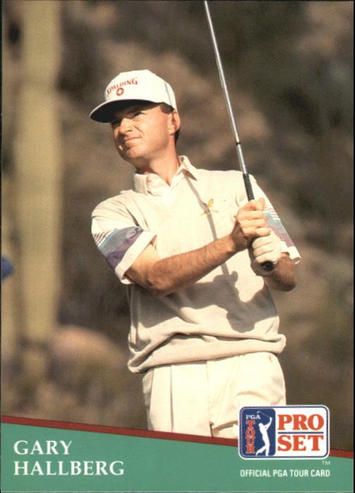 1991 Pro Set #29 Gary Hallberg RC