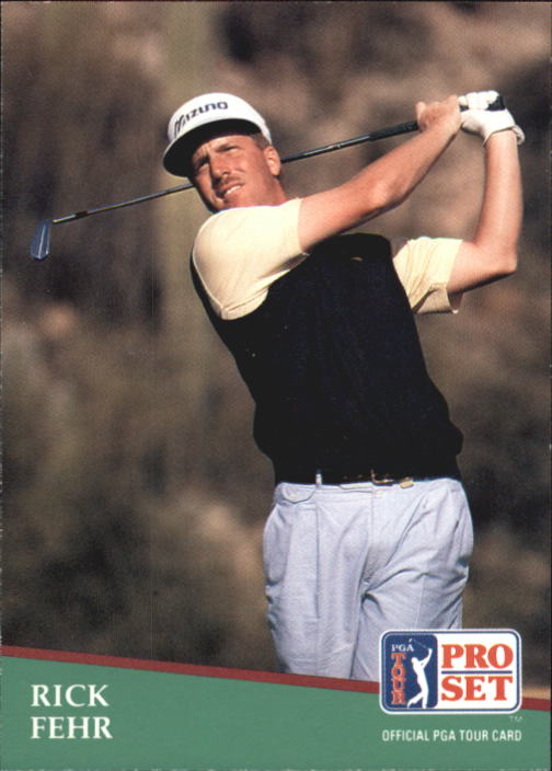 1991 Pro Set #33 Rick Fehr RC