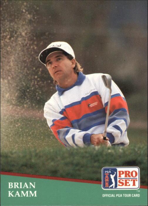 1991 Pro Set #34 Brian Kamm RC