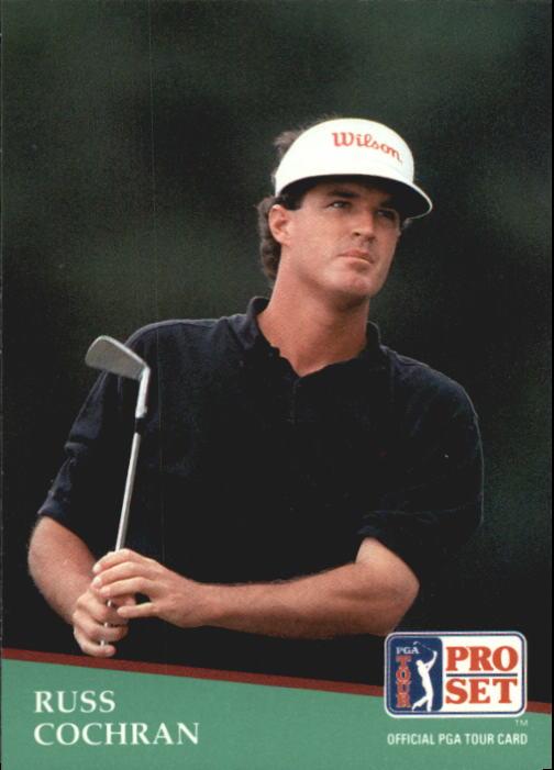 1991 Pro Set #45 Russ Cochran
