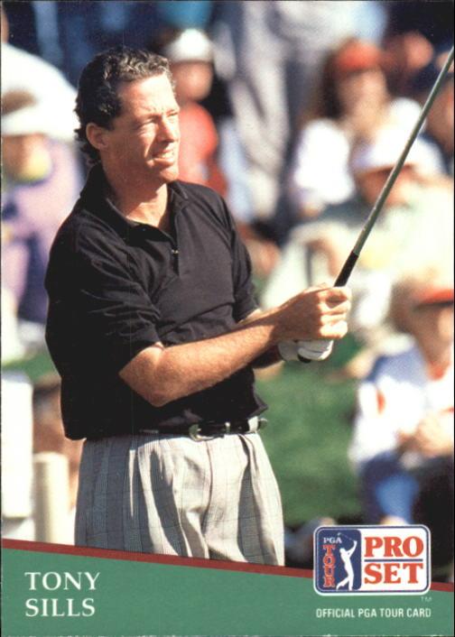 1991 Pro Set #47 Tony Sills