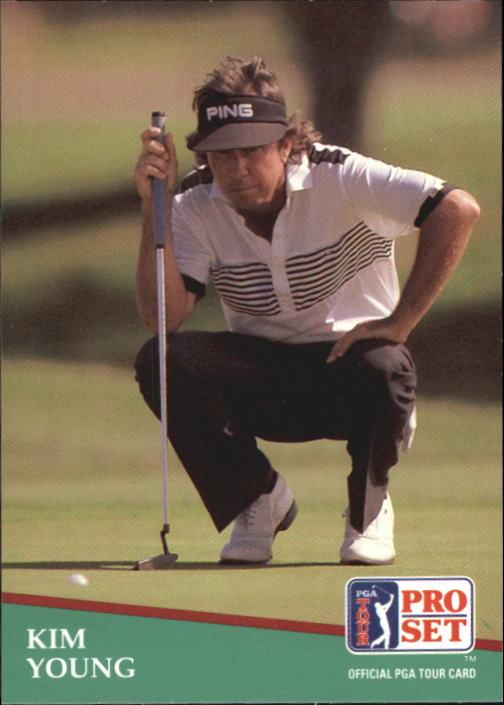 1991 Pro Set #53 Kim Young RC