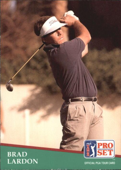 1991 Pro Set #55 Brad Lardon RC