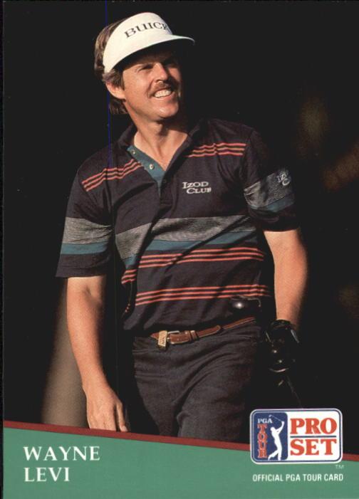 1991 Pro Set #58 Wayne Levi