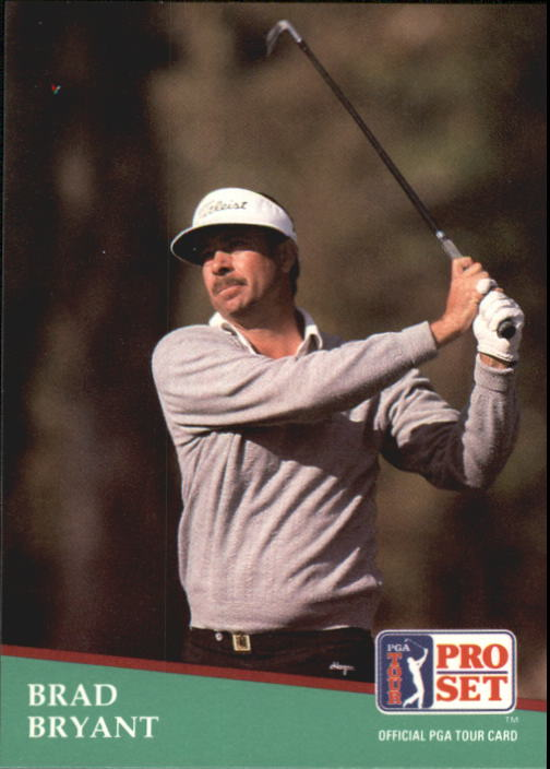 1991 Pro Set #69 Brad Bryant RC