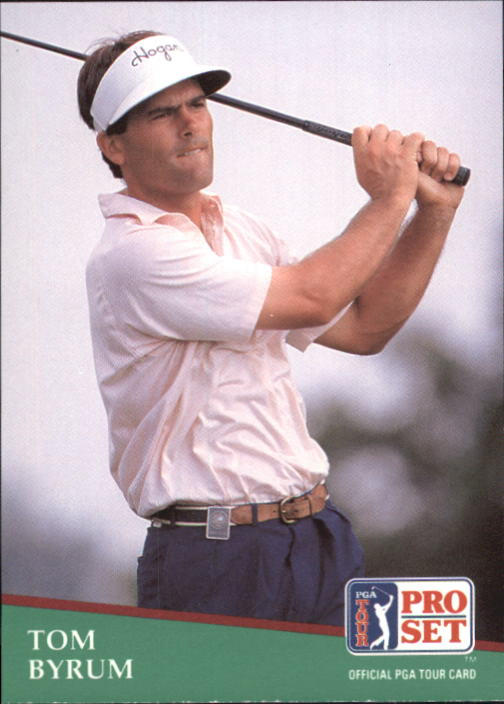 1991 Pro Set #72 Tom Byrum RC