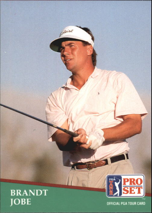 1991 Pro Set #73 Brandt Jobe RC
