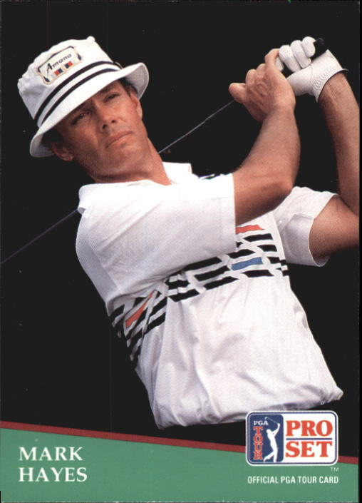 1991 Pro Set #76 Mark Hayes