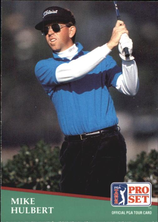 1991 Pro Set #81 Mike Hulbert