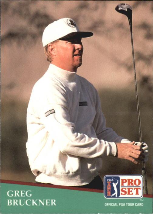 1991 Pro Set #87 Greg Bruckner RC