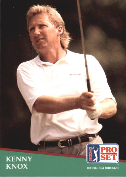 1991 Pro Set #89 Kenny Knox