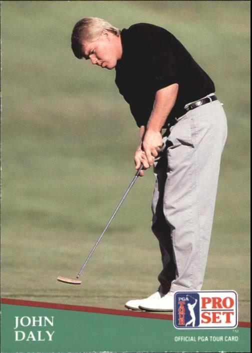 1991 Pro Set #93 John Daly RC