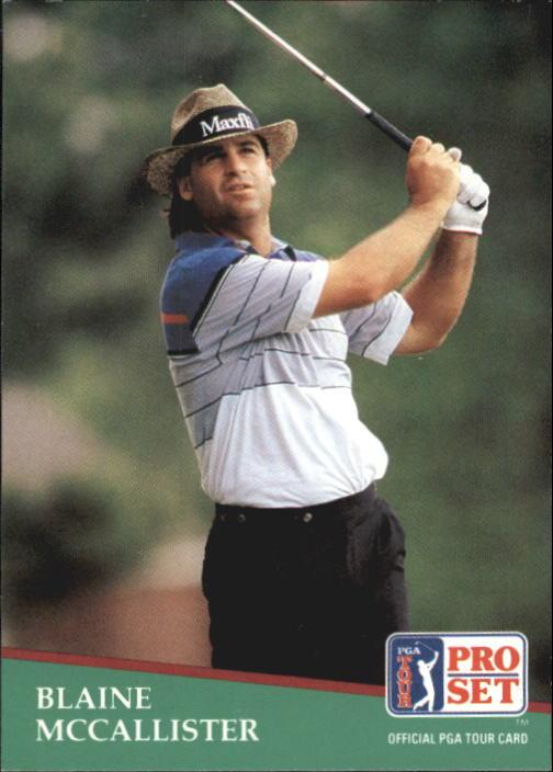 1991 Pro Set #95 Blaine McCallister RC