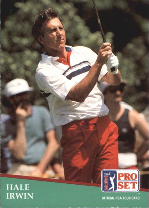 1991 Pro Set #97 Hale Irwin