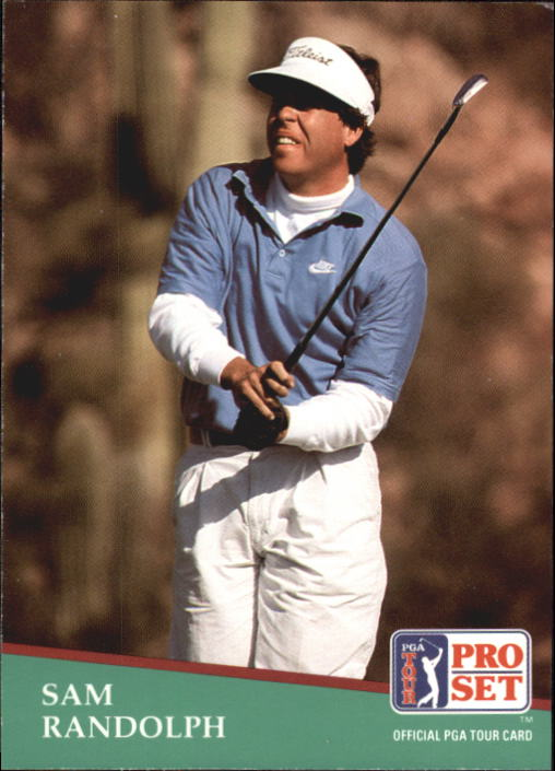 1991 Pro Set #98 Sam Randolph RC