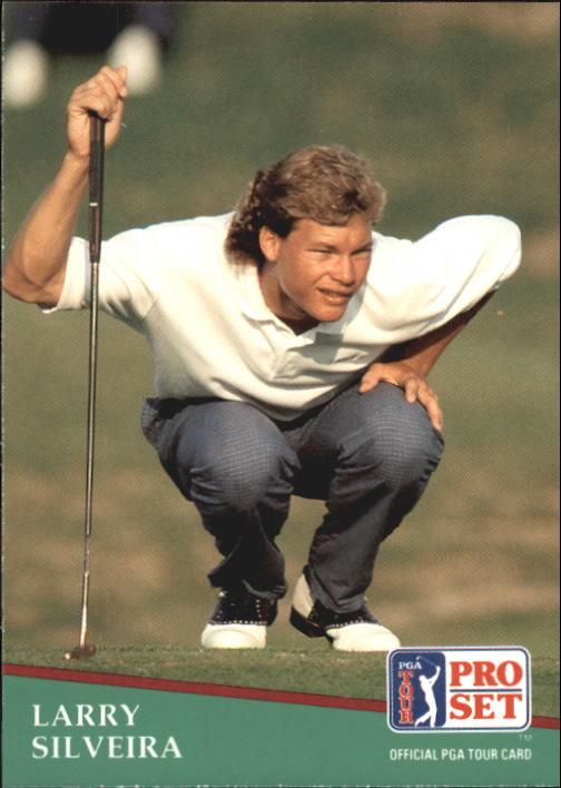 1991 Pro Set #99 Larry Silveira RC