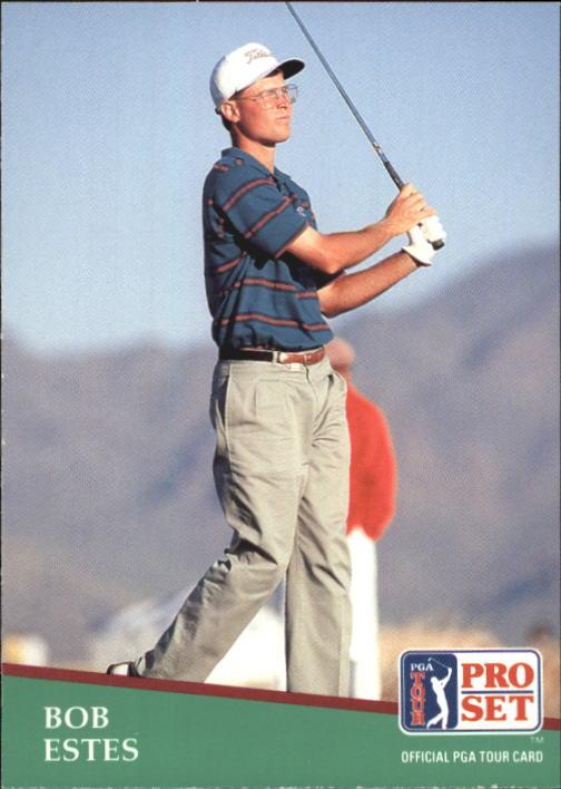 1991 Pro Set #102 Bob Estes