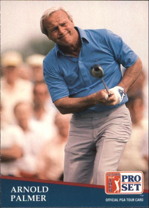 1991 Pro Set #220 Arnold Palmer