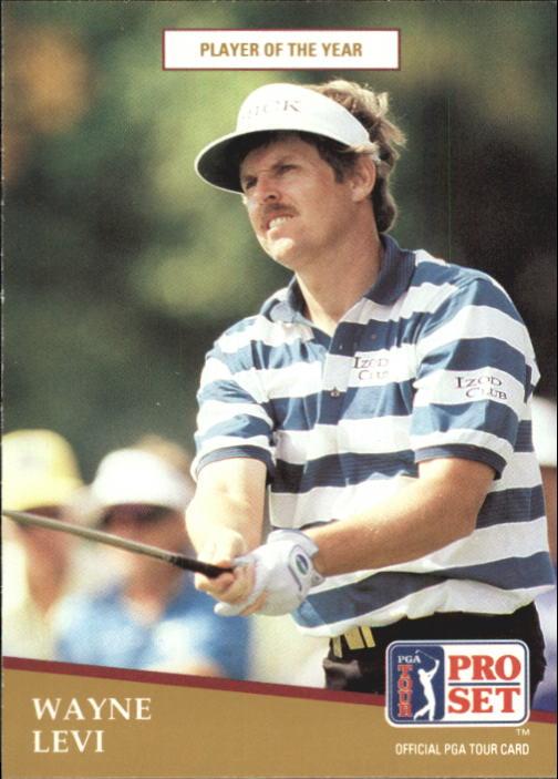 1991 Pro Set #283 Wayne Levi POY