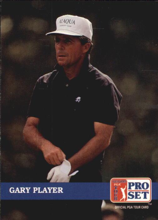 1992 Pro Set #212 Gary Player