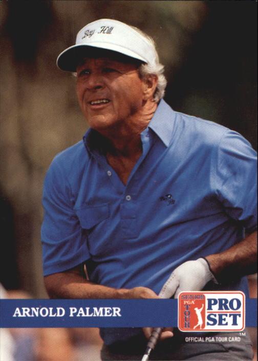 1992 Pro Set #253 Arnold Palmer