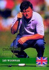1992 Pro Set Champions #E4 Ian Woosnam
