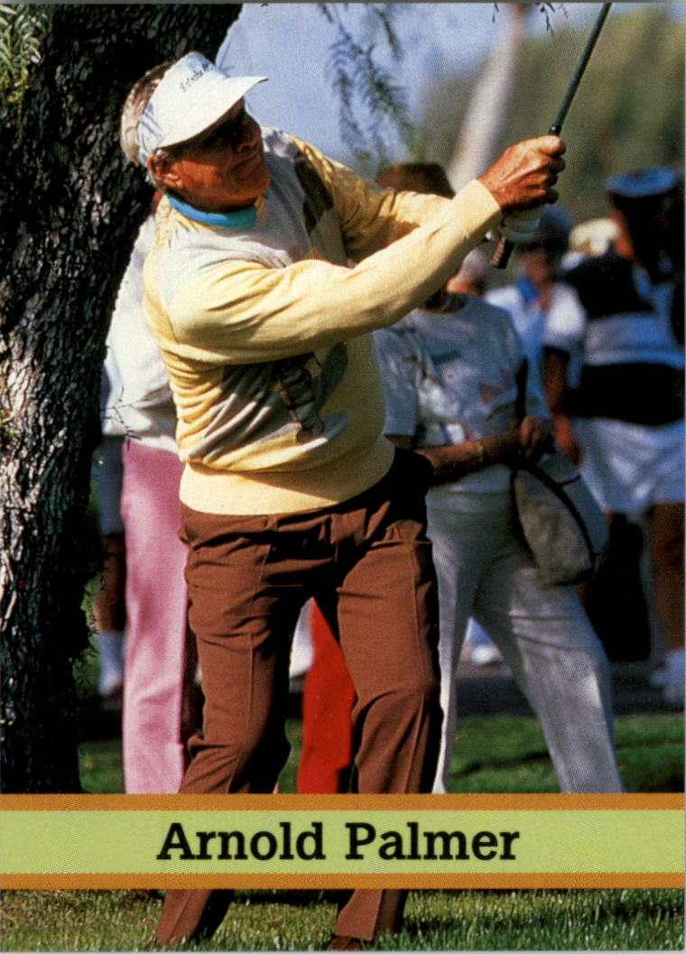 1993 Fax-Pax Famous Golfers #13 Arnold Palmer