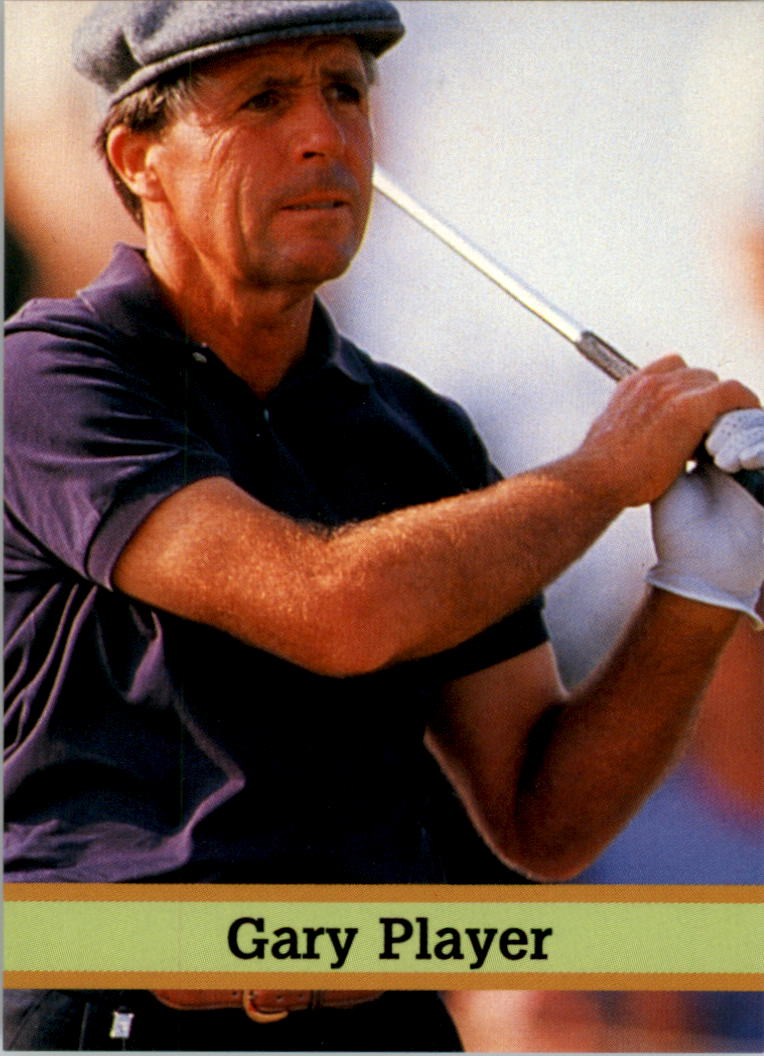 1993 Fax-Pax Famous Golfers #39 Gary Player