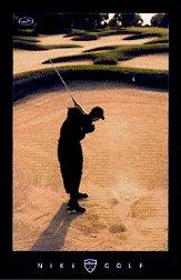 1996-97 Nike Tiger Woods Sand Promo #NNO Tiger Woods