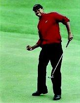 1997 Topps Tiger Woods Jumbo Photos #1 Tiger Woods