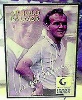 1998 Golf Channel Arnold Palmer Heart and Soul #NNO Arnold Palmer