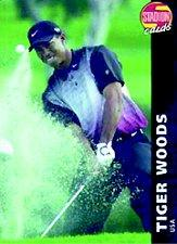 2000-01 Stadion Czech Republic #178 Tiger Woods