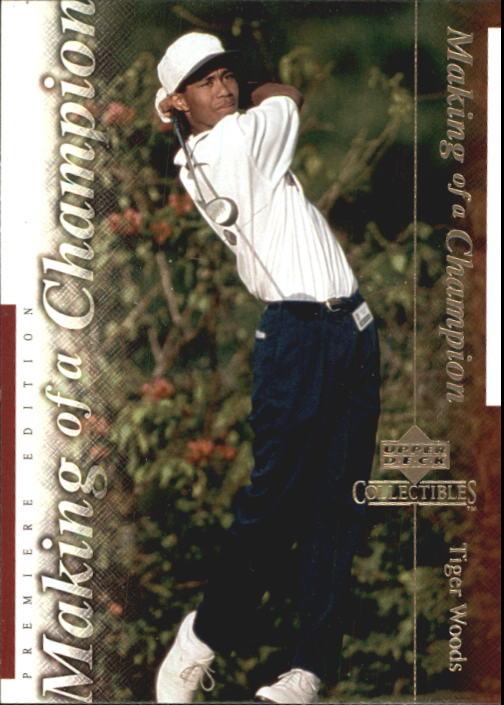 2001 Upper Deck Tiger Woods Collection #TWC4 Tiger Woods U.S. Jr. Champ